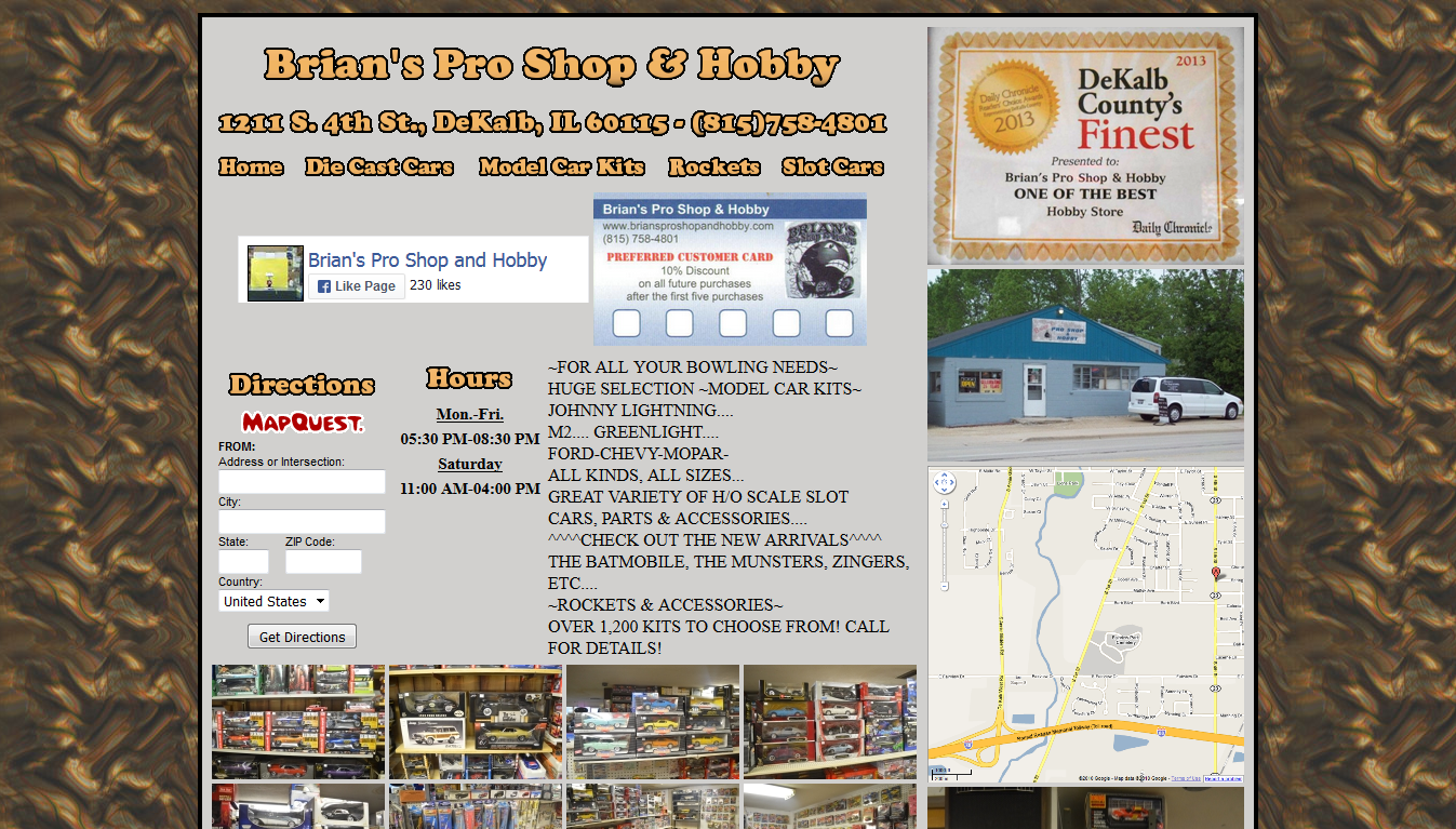 Brian's Pro Shop and Hobby