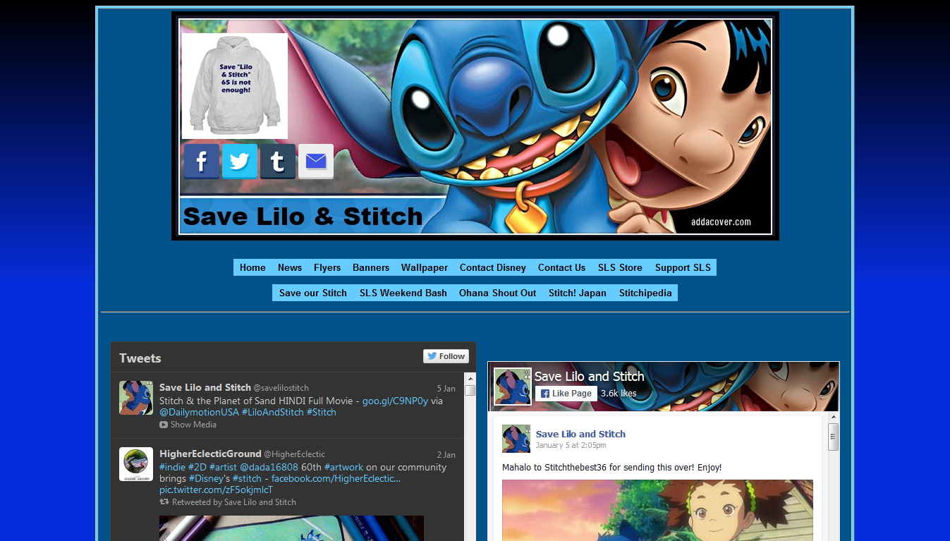 Save Lilo & Stitch
